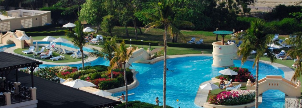 Intercontinental Muscat Pool