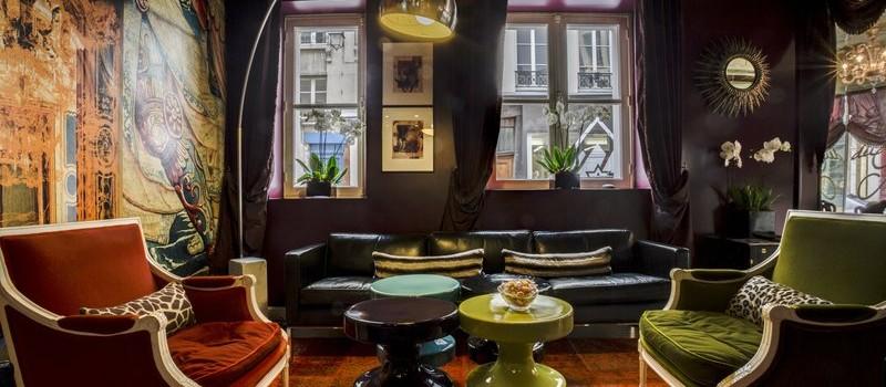 Hôtel du Petit Moulin Lobby Lounge